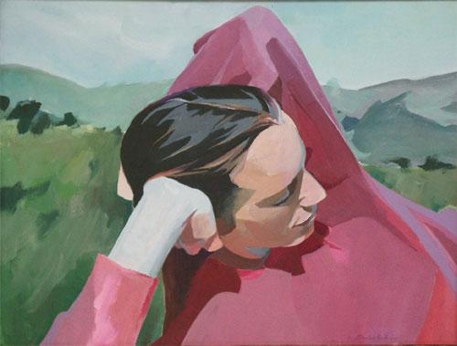 Lori Marin Hills Donald Archer Contemporary Figure Painting